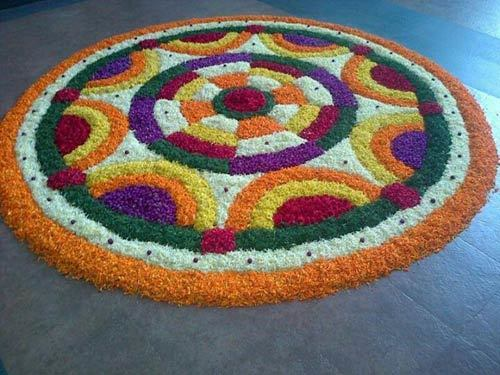 Onam Pookalam Designs ideas
