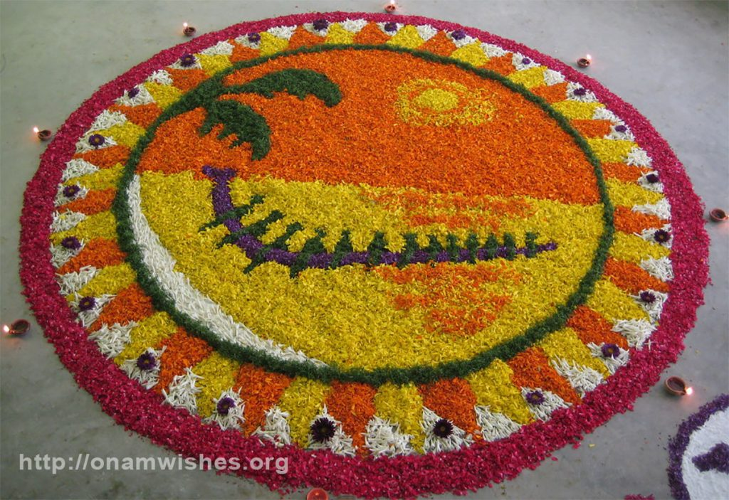 Onam 2019 Athapookalam, Whatsapp Status, Photos